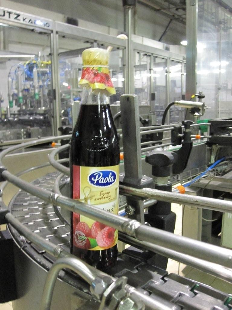 Bottle with hood and string Raupack UK and Ireland
