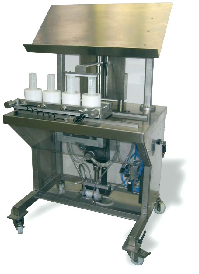 Manual Bottle Cleaning Machine Raupack UK and Ireland