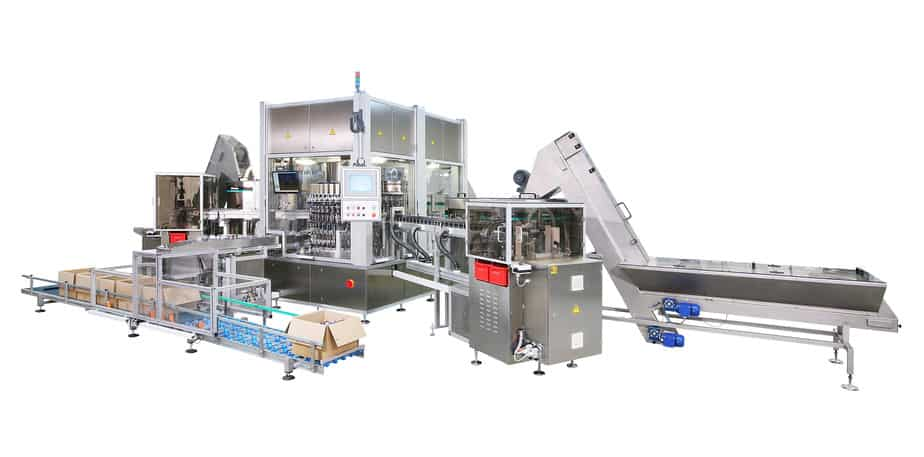 Continuous Motion Machine - Continuomat - Raupack UK and Ireland
