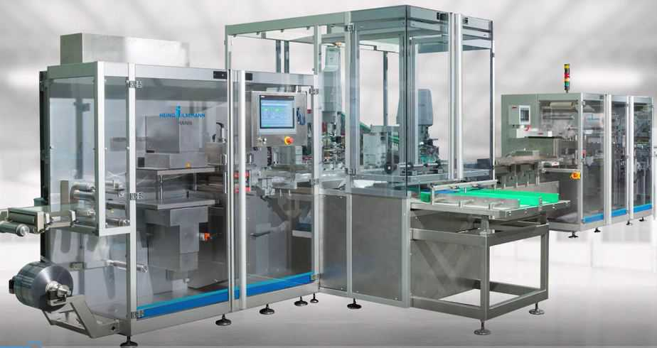 High Speed Vial and Syring Blister Machine - Raupack UK and Ireland