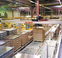 Palletising Robot in Operation - Raupack UK and Ireland