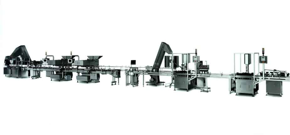 Tablet and Capsule Filling Line - Raupack UK and Ireland