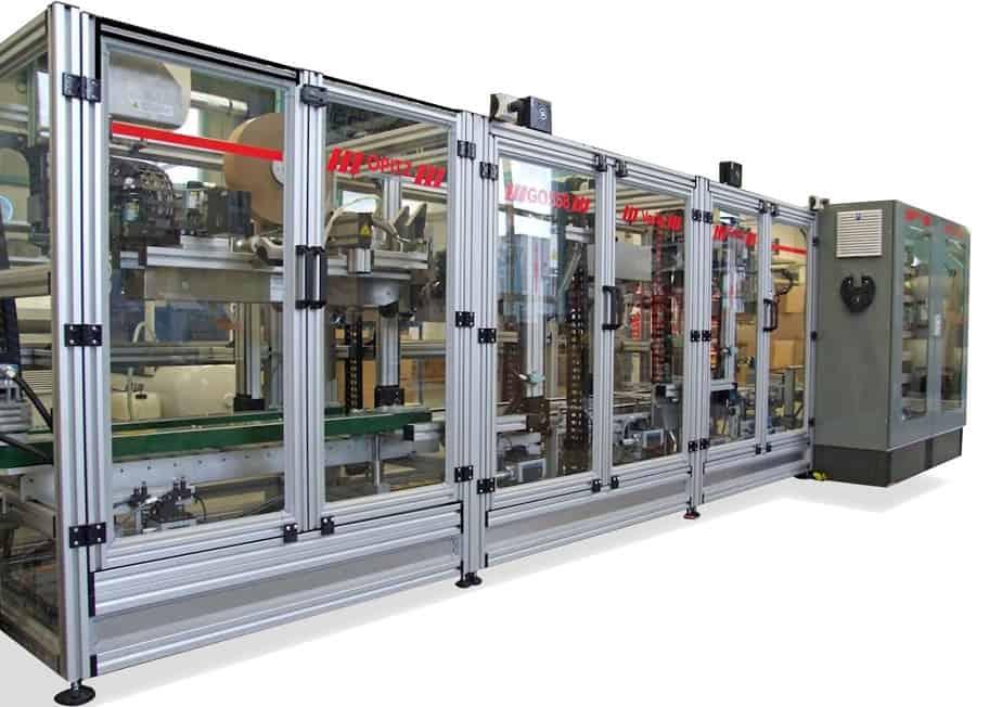 Volume Reducing Case Sealing Machine