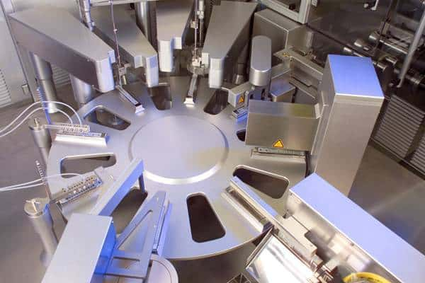 Diagnostics Cartridge Filling Machine Turret - Raupack UK and Ireland